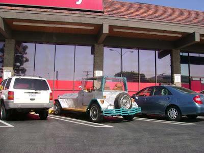 CVS parking lot