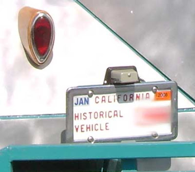 Historical Vehicle Plate