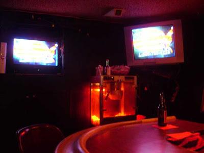 TVs - Popcorn - Beer