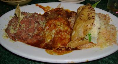 enchilada and taco