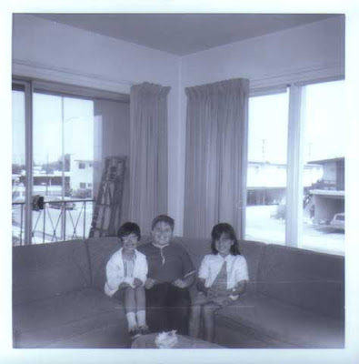 Brian with Becky and Audrey - circa 1965