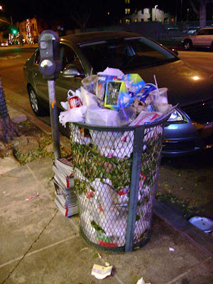 Vermont Avenue Trash Can - Los Feliz