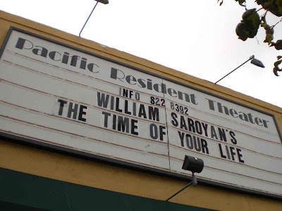 Pacific Resident Theater Presents Saroyan's THE TIME OF YOUR LIFE