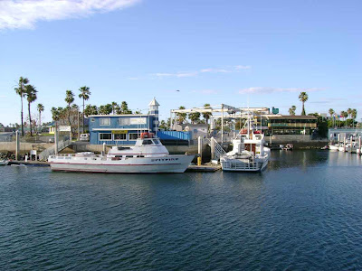 Boats in the Redondo Beach Marina