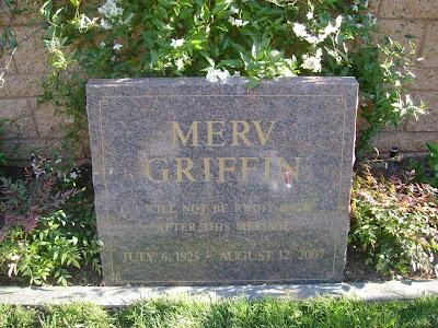 Merv Griffin - Westwood Cemetery