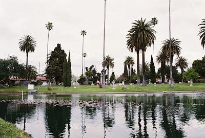 Hollywood Forever Cemetery Lake - Pt. 1