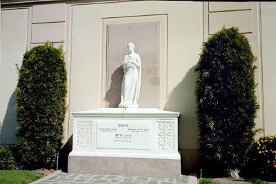 Bette Davis at Forest Lawn Hollywood Hills