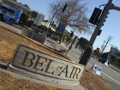 West Bel Air Entrance
