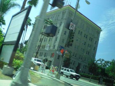 Old San Pedro Jail - Funeral Limo Tinted Glass