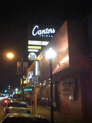 Canter's on Fairfax at Night