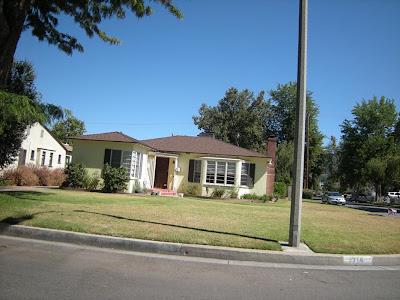 Mabel Monahan's Burbank Residence