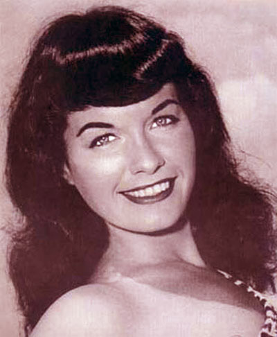Celebrity Grave: Iconic Pin-Up Model Bettie Page