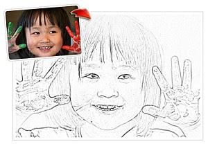 schizzi, matita, foto