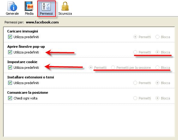 Firefox come bloccare o consentire pop up e cookie di uno - Bloccare finestre pop up ...
