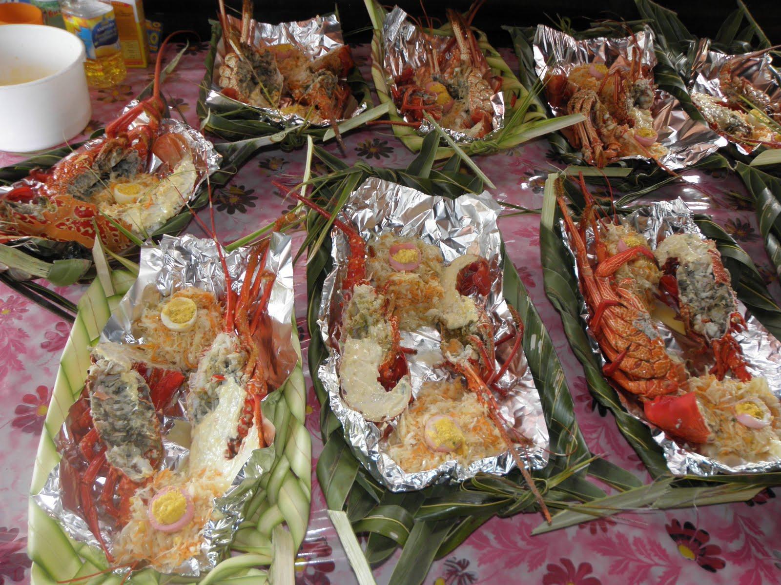 Maya en Nouvelle Caledonie: Mariage kanak ...côté cuisine !