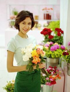 negocio de floristería o florería