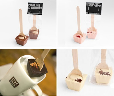 Unique Favor Ideas: Chocolate Spoons!