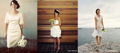 Wedding Trends 2010: Short Wedding Dresses