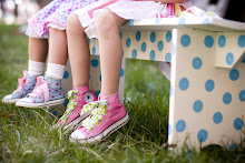 Polkadaisies loves converse high tops and ribbon laces