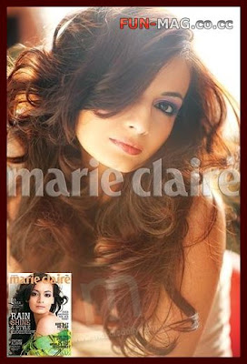 Diya Mirza Sizzles on 'Marie Claire