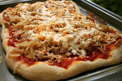 Bacon Cheeseburger Pizza - Healthy recipes