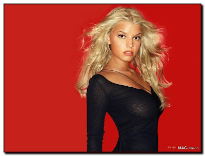 Desktop Model - Jessica Simpson Hot Wallpapers. [12:34 PM | 1 comments ]