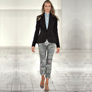 Trends In Women's Denim Jeans For Spring/Summer 2010