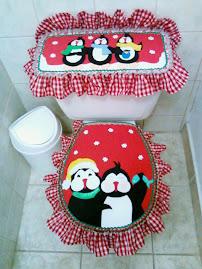 Navidad-Juego de Baño