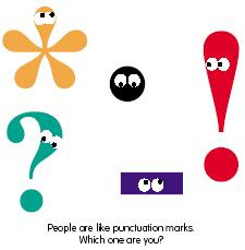 Punctuation Lesson Plans, Worksheets, Printables