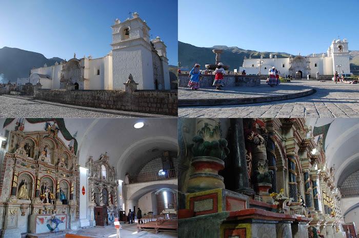 Iglesia de Yanque, Caylloma en la Region  de Arequipa