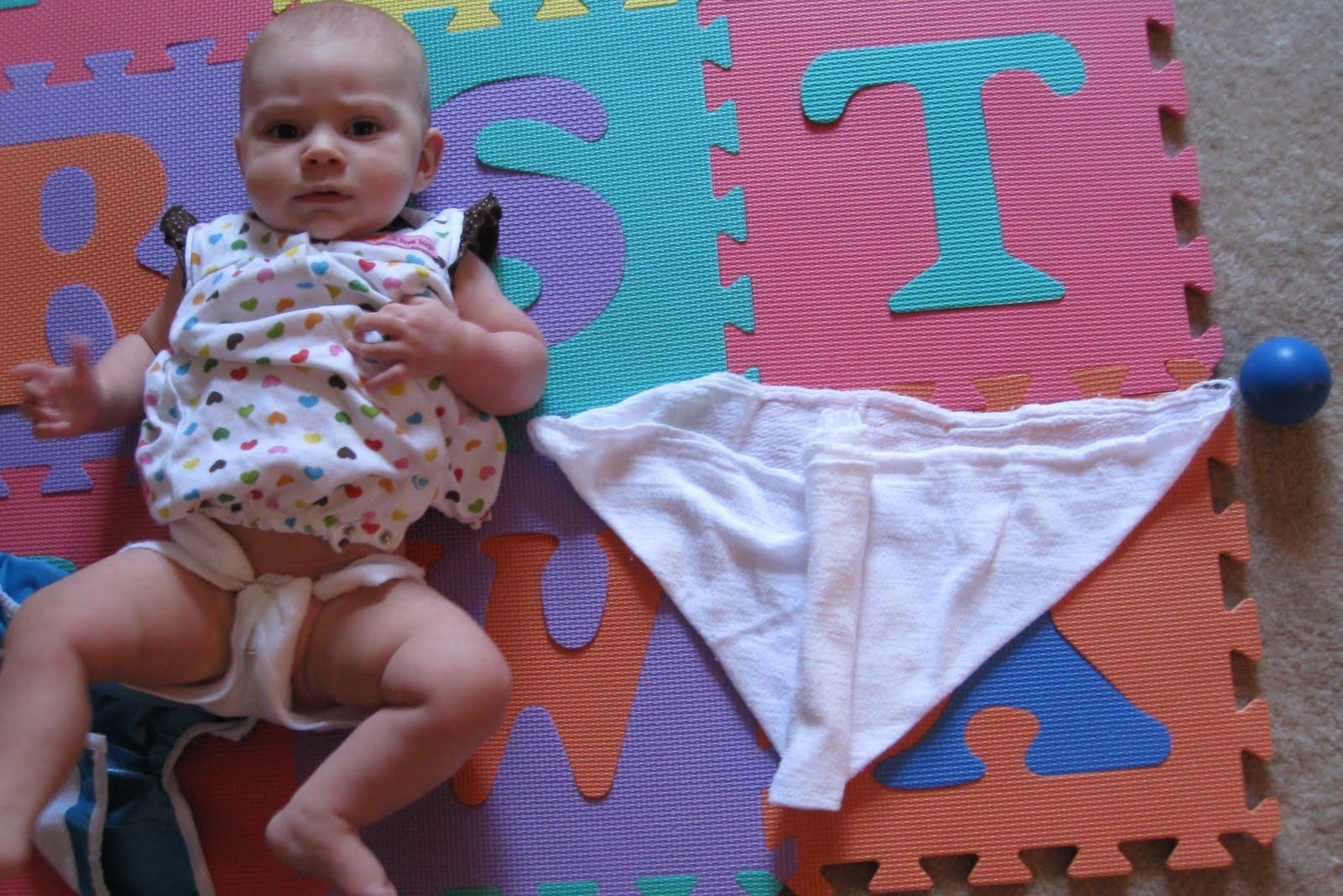Как сшить подгузники из марли для новорожденных своими руками? 2