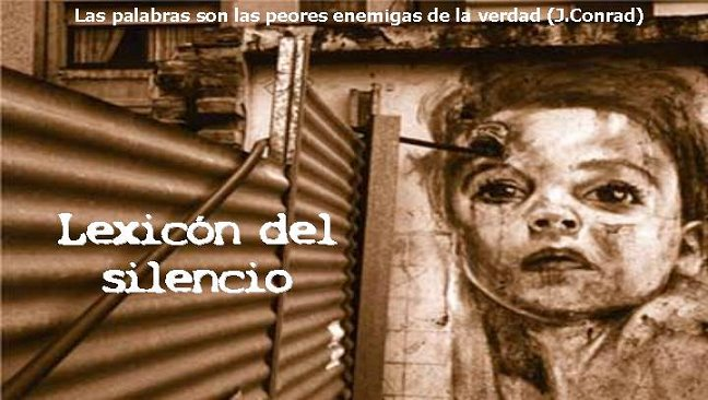 Lexicón del silencio