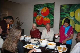 Krishna Dinner