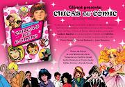 Chicas de cómic es un recorrido nostálgico por las revistas de historietas . presentaci chicas de mic
