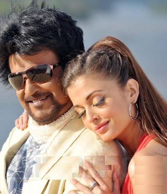 Rajini and Aishwarya hot stills