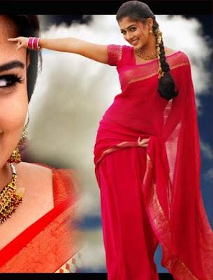 Nayanthara in sari stills
