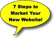7 steps to market your website 7 Steps to Market Your New Website