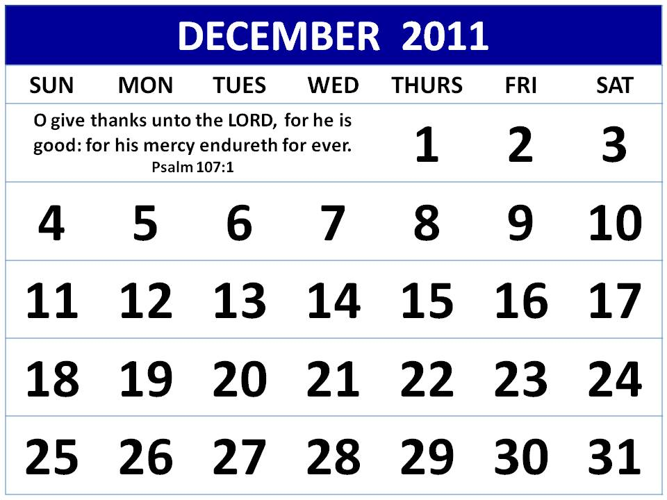 Detlaphiltdic Free Christian Calendar 2011 January To December 2011
