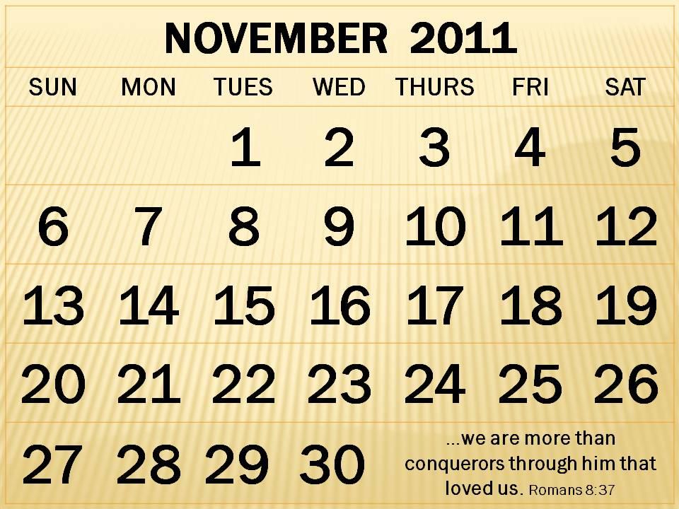 calendar november 2011. calendar november 2011.