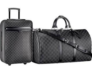 louis vuitton damier luggage keepall