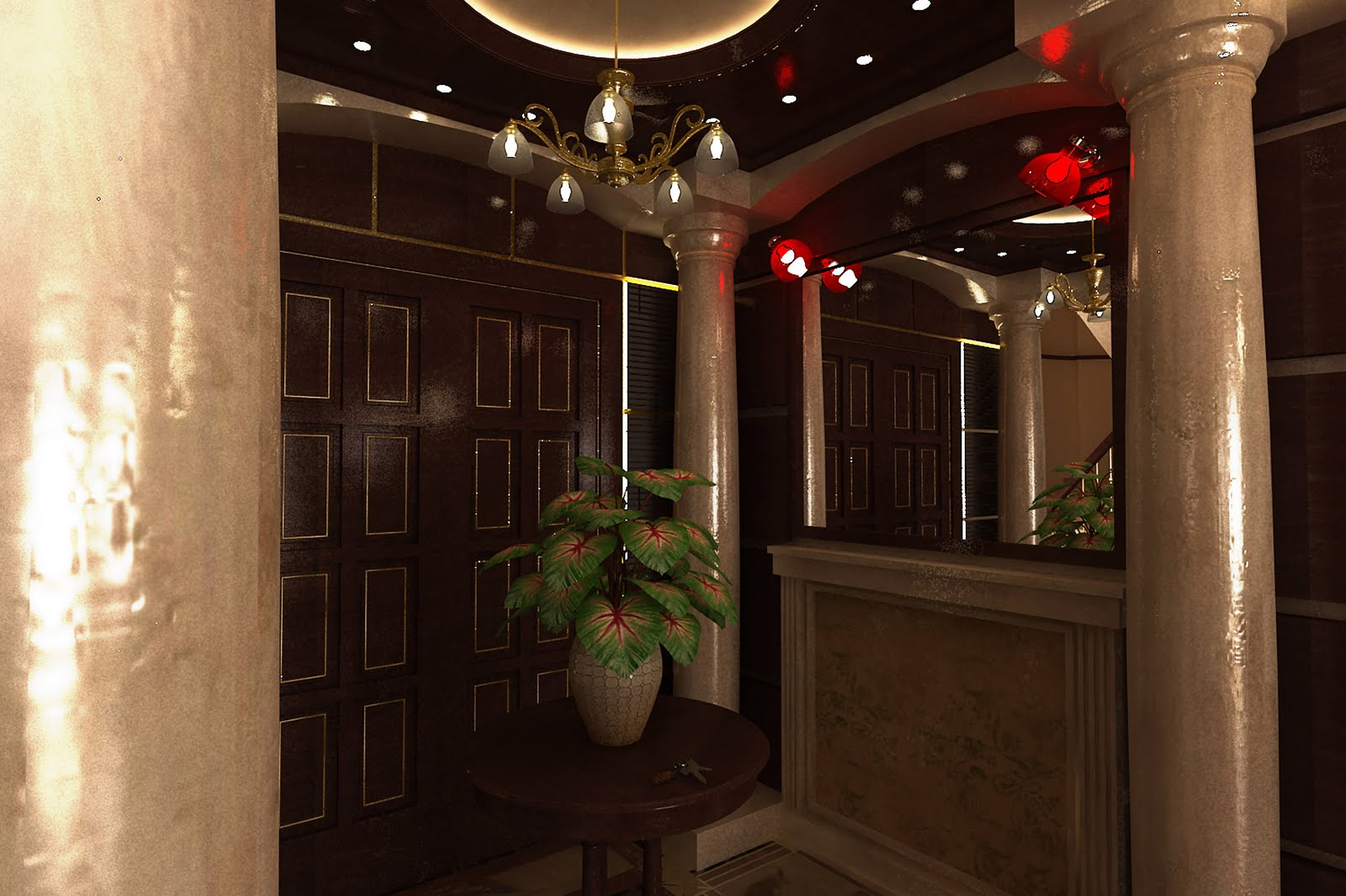 Interior Design 4 Private Villa @ 6th Of October In Royal City Residential  Compound