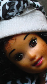 Dolls photo makeover compare the two