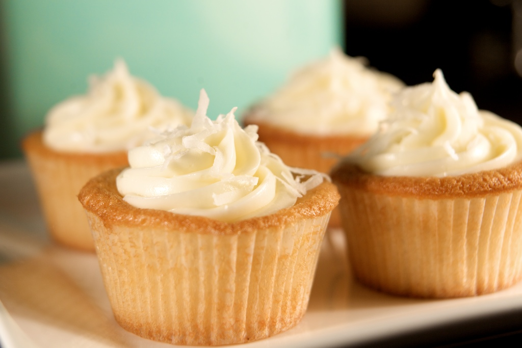 For the Love of Sucrose: Coconut Cupcakes