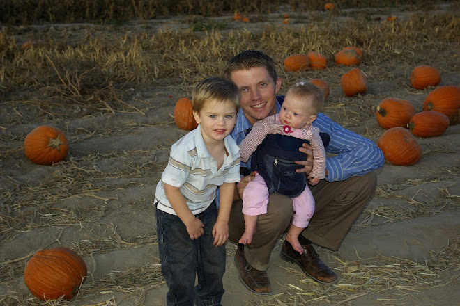 Shaun and Kids at the pumpkin patch