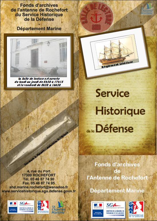 Stage au service historique de la d fense mai 2010 - Office des lectures du jour ...