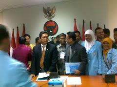 Menerima Aspirasi Forum Guru Honorer Bersertifikat Lampung