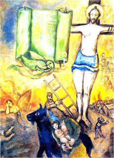 Carrot Top Studio: 03/18/10 Chagall Crucifixion In Yellow