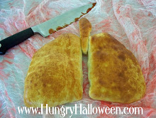 Halloween Recipes - Lung Calzones