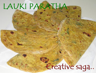 lauki paratha