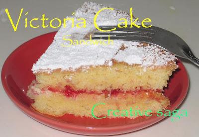victoria sandwich cake/vanilla sponge cake